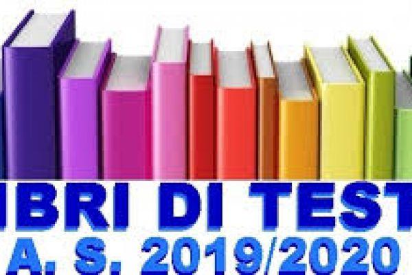 Libri di testo a.s. 2019-2020